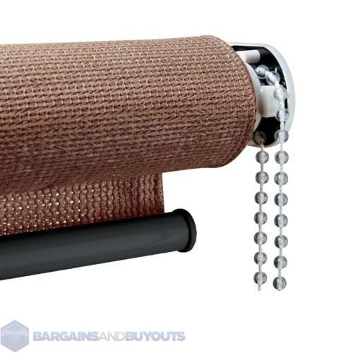 Keystone Fabrics Roll Up Solar Uv Blocking Sun Shade 8 39 X6 39 Cabo Sand 341679 Ebay