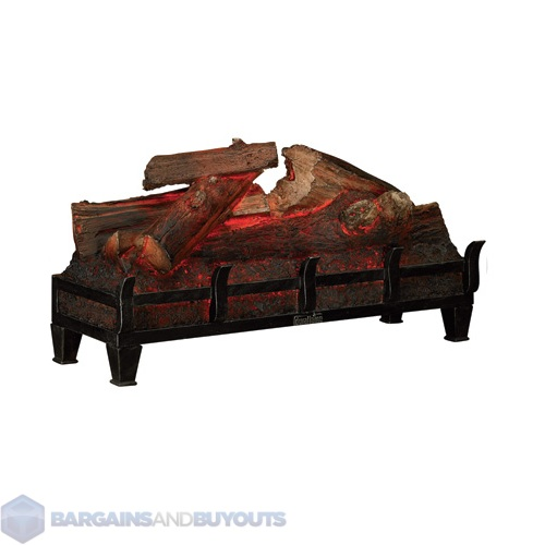 duraflame electric log set fireplace insert dfl001. Black Bedroom Furniture Sets. Home Design Ideas