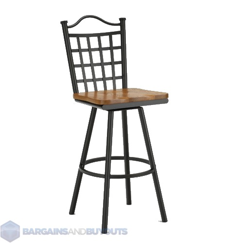 Tempo Palmero 34quot Armless Swivel Extra Tall Bar Stool In  : tp2260 1 from ebay.com size 500 x 500 jpeg 32kB