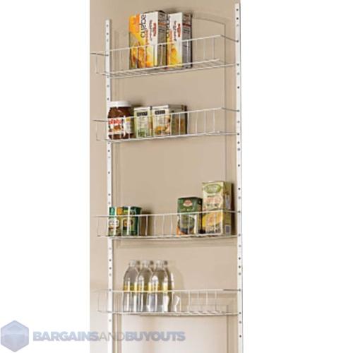 24 wide 8 shelf kitchen pantry door rack 220479 ebay. Black Bedroom Furniture Sets. Home Design Ideas