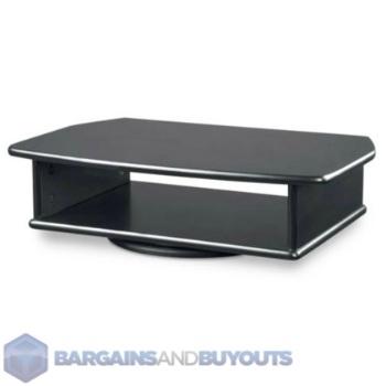Tv Dvd Tabletop Turntable Swivel Stand Black 350417 Ebay