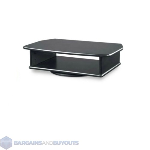 Delicieux Tv Dvd Swivel Stand : Tv Dvd Tabletop Turntable Swivel Stand Black