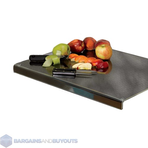 Kitchen Acrylic Cutting Board With Lip Counter Top Protector 24