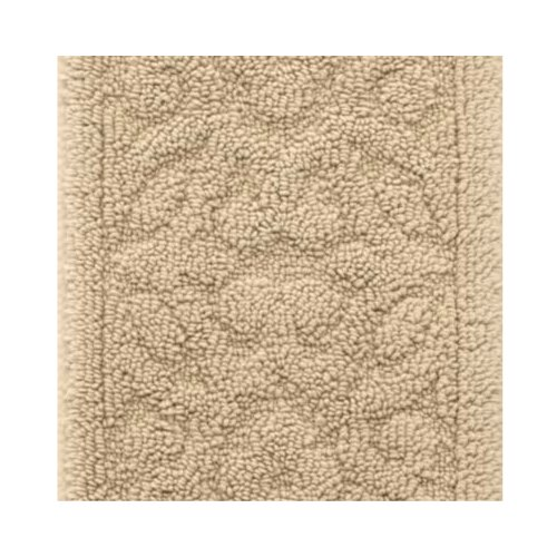 100 Plush Cotton Washable Embossed Rug 3 X5 In Linen