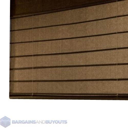 Coolaroo Outdoor All Weather Exterior Roman Shades 8 39 X 6 39 Mocha 372853 Ebay