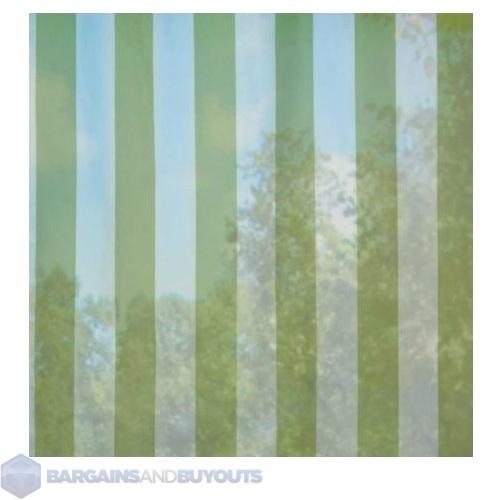 Voile Outdoor Curtain Panel Green Stripe 96 39 383304 Ebay